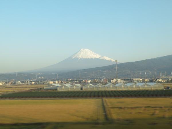 東海道新幹線車窓1