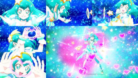 【スター☆トゥインクルプリキュア】第02話「宇宙からのオトモダチ☆キュアミルキー誕生!」18