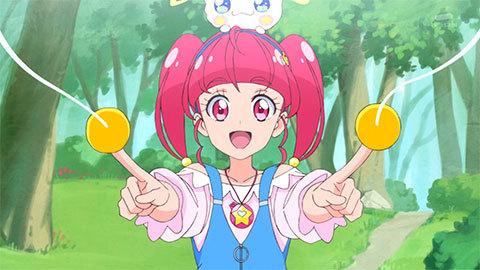 【スター☆トゥインクルプリキュア】第02話「宇宙からのオトモダチ☆キュアミルキー誕生!」09