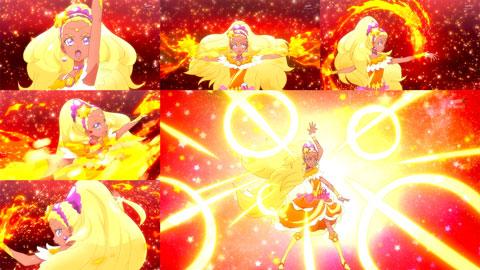 【スター☆トゥインクルプリキュア】第04話「チャオ!きらめく笑顔☆キュアソレイユ誕生!」20