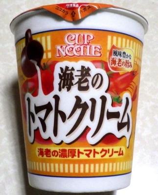 2/4発売 カップヌードル 海老の濃厚トマトクリーム