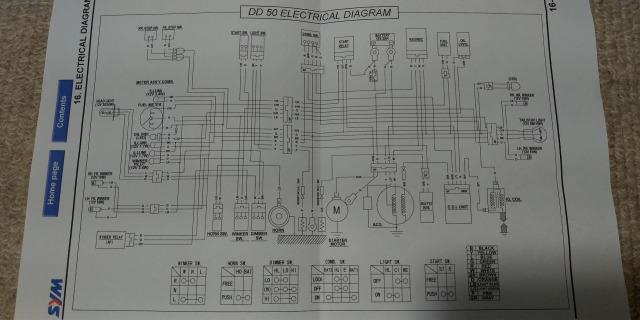 SYMDD50電気配線図