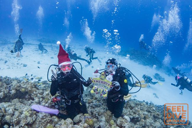 水納島からメリークリスマス!