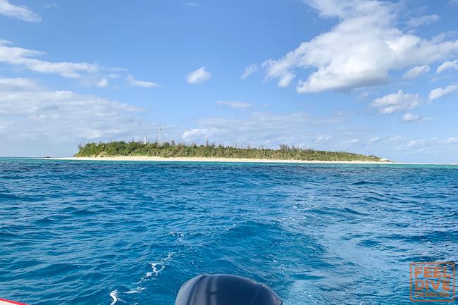 お久しぶりの水納島