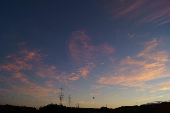 181101夕焼けの雲1710
