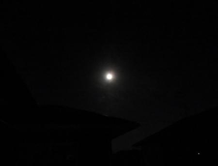 夜の月 2019-01-21 002
