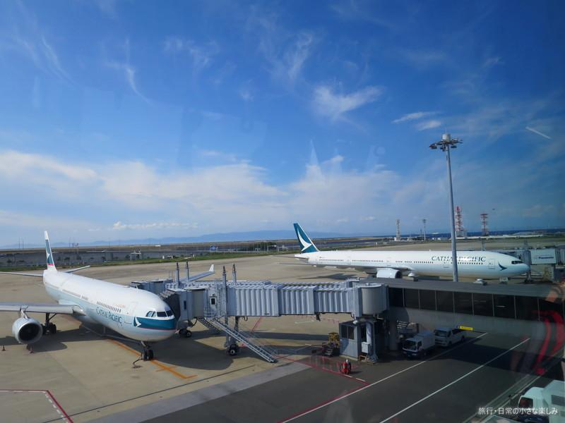 関西空港 キャセイパシフィック