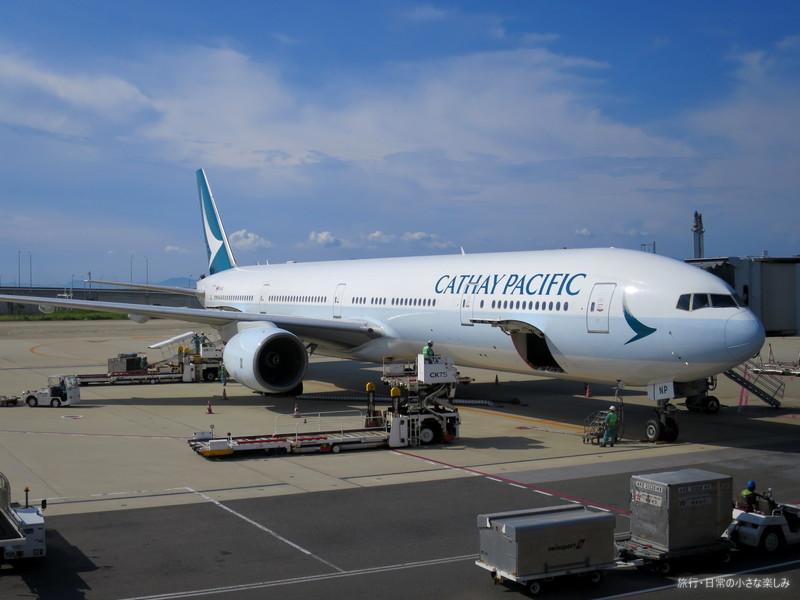 関西空港 キャセイパシフィック CX507