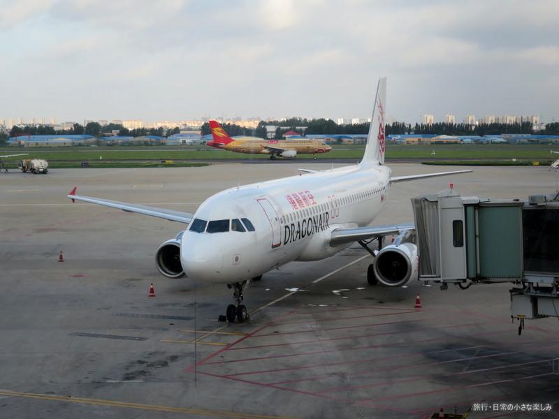 青島空港 キャセイドラゴン航空