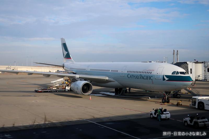 CX597 関西→香港 機内食 ハーゲンダッツ
