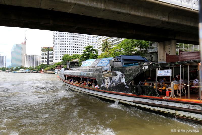 チャオプラヤー川 チャオプラヤー・エクスプレス ボート