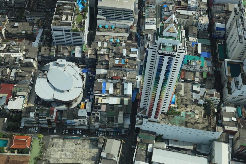 バイヨーク・タワーII バンコク観光