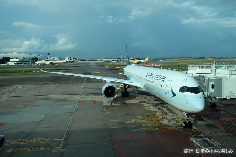 CX716 キャセイパシフィック A350-1000