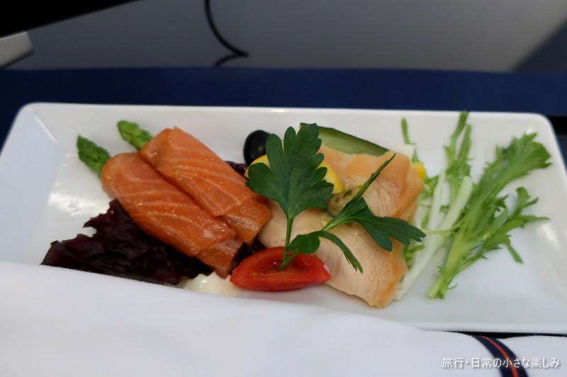ANA NH978 機内食 ビジネスクラス 青島関西