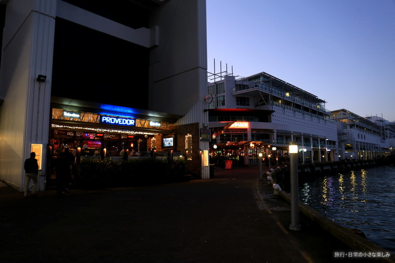 オークランド 夕食 観光 フェリーターミナル