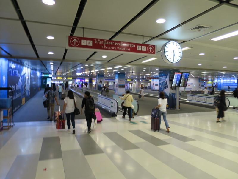 スワンナプーム国際空港 電車
