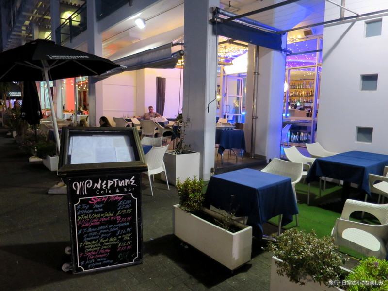 Neptune Cafe & Bar オークランド 夕食 おすすめ