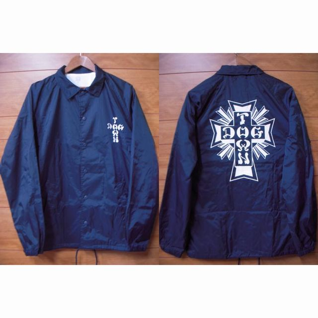 Blog Dogtown Skates Cross Logo ウィンドブレーカーNavy