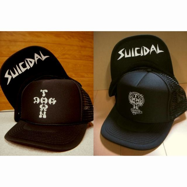 blog Suicidal Tendencies-Dogtown Skates Cross Letter 6th メッシュ・キャップ