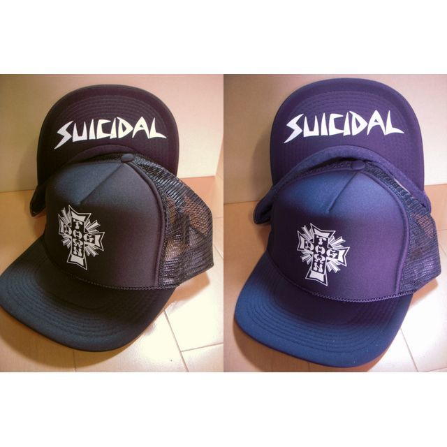 Blog Suicidal Tendencies-Dogtown Skates Cross Logo メッシュ・キャップ