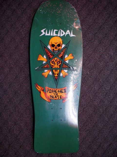 1 b Suicidal Tendencies Possessed To Skate Re-Issue Deck 10×30
