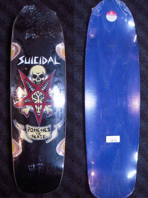 2 b Suicidal Skates Possessed to Skate Pool Deck 875 x 325 WB1475 Black