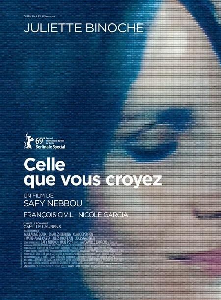 映画『Celle que vous croyez/あなたが思い描いていた女性』