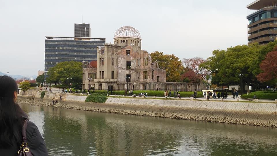 広島にて。