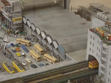 過去の渋谷駅周辺模型