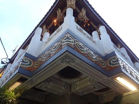 中華街関帝廟角