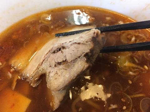 麻婆麺チャーシュー