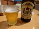 サッポロ赤星中瓶@オムヒコ