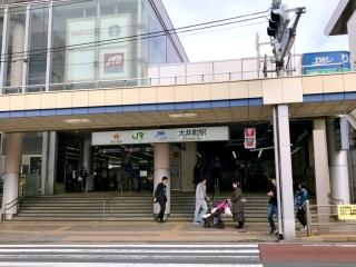 横浜ラーメン 武蔵家 大井町店 (1)