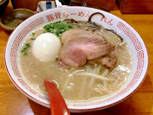 豚骨らーめん れん (11)