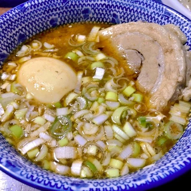 豚魚のつけ麺 (2)