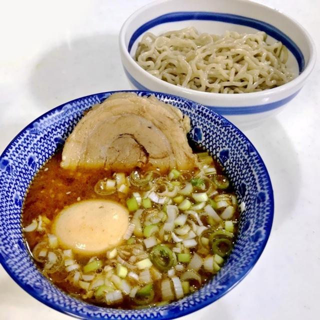 豚魚のつけ麺 (1)