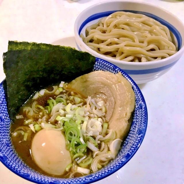豚魚のつけ麺 (4)