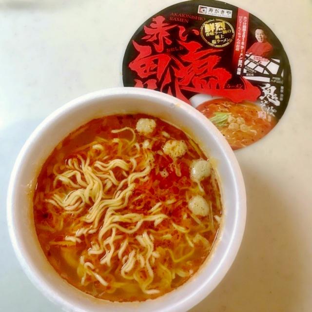カップ麺 鬼そば藤谷