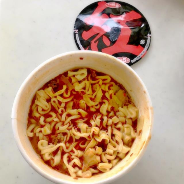 カップ麺 麺創研かなで 紅