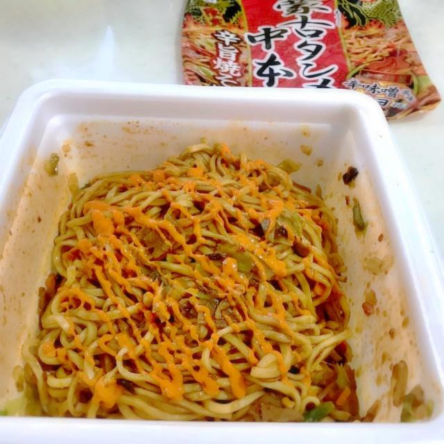 カップ麺 蒙古タンメン中本