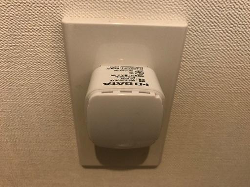 引越しA号室Wi-Fi中継器