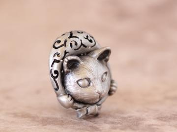 どろぼう猫(ブローチ) ②1280×960