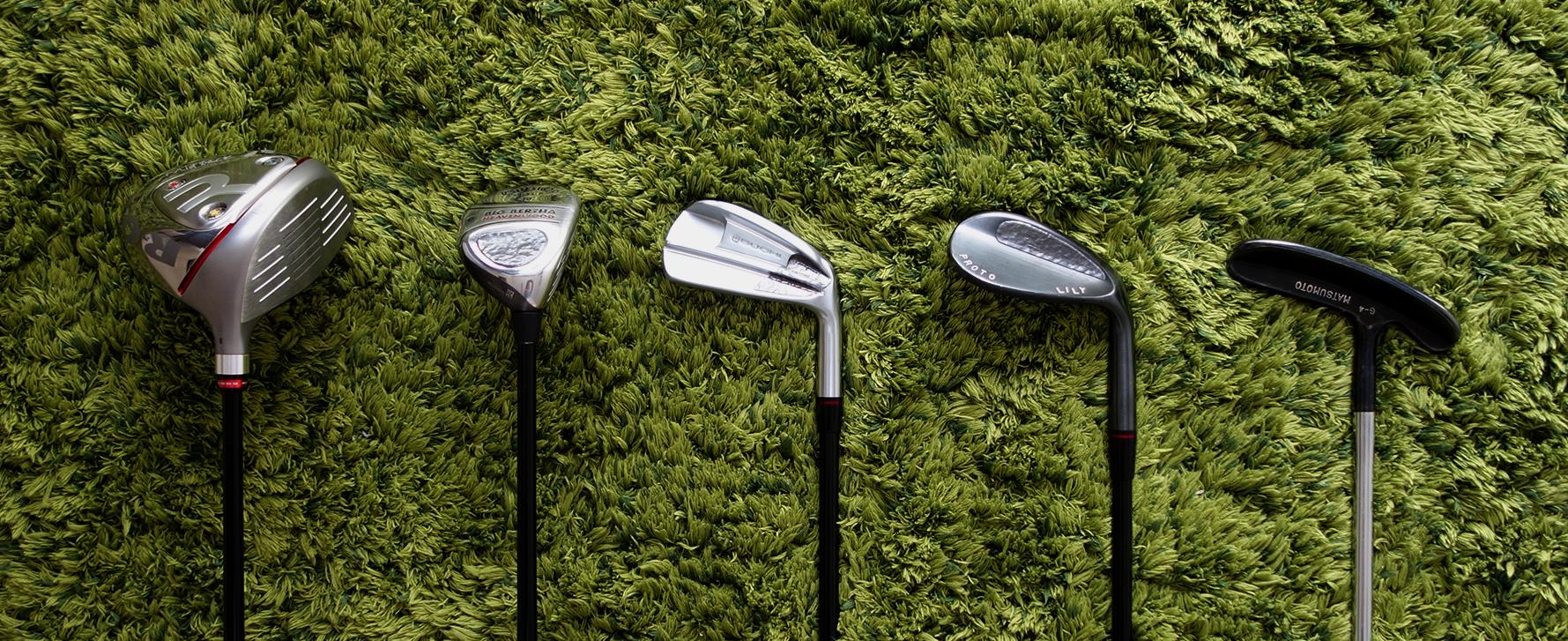ゴルフクラブ5本セッティング
