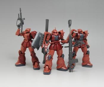 HG シャア専用ザクII(オリジン) (1)