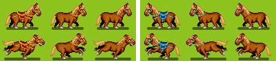 第七弾・お馬のみ 収録キャラ一覧