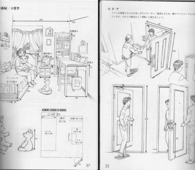 キャラとモノの基本スケール図鑑 (2)