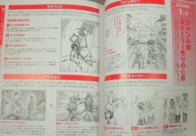 マンガデッサン練習帳コマ割り基本テク (2)