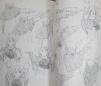 衣服の描き方学校制服少女 (7)