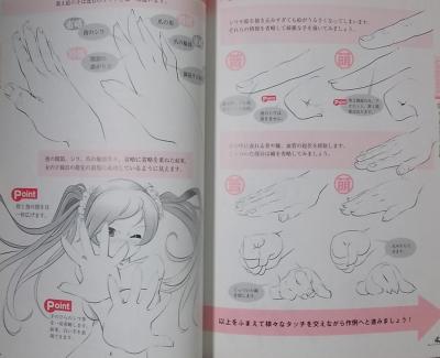 キャラクターの手と足の描き方 (2)