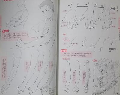 キャラクターの手と足の描き方 (4)